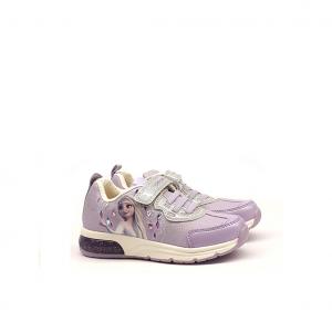Sneaker lilla Elsa Frozen Geox