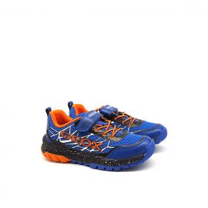 Sneaker royal/arancio Geox