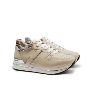 Sneaker platform beige Keys