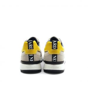 Sneaker grigio/gialla NeroGiardini