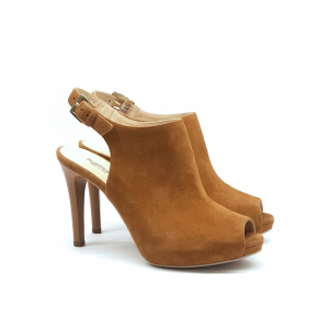 Sandalo open-toe cuoio NeroGiardini