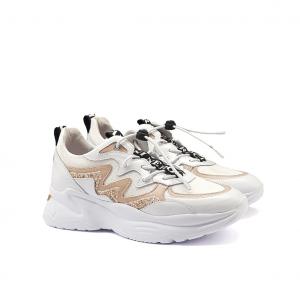 Chunky sneaker bianca/rosa NeroGiardini