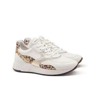 Sneaker latte/animalier NeroGiardini