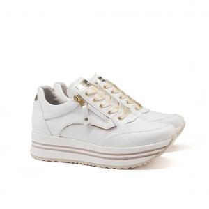 Sneaker platform bianca NeroGiardini