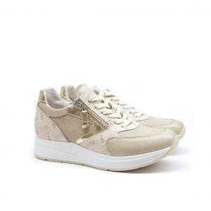 Sneaker ivory/logata NeroGiardini