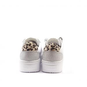 Sneaker bianca/argento NiRa Rubens