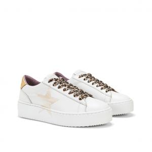 Sneaker bianca/oro NiRa Rubens