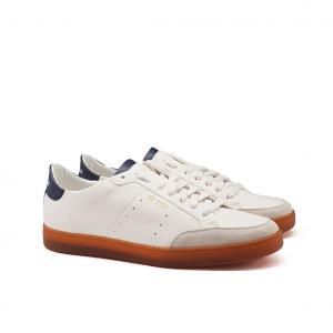 Sneaker bianca/blu Stokton