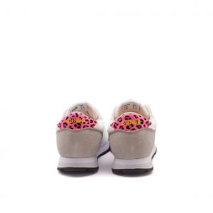 Sneaker bianco/fuxia SUN68