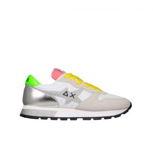 Sneaker bianca/panna SUN68