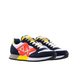 Sneaker bianco/navy Sun68