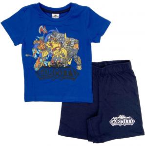 Completo T-shirt con Pantaloncino Gormiti da 3 a 7 anni