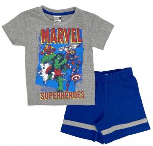 Completo T-shirt con Pantaloncino Avengers da 3 a 7 anni Estate 201
