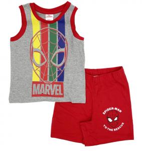Completo Spiderman Canottiera con pantaloncini da 3 a 7 anni Estate 2021
