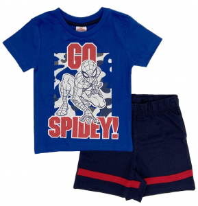 Completo Spiderman T-shirt con pantaloncini da 3 a 7 anni Estate 2021-2-2