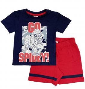 Completo Spiderman T-shirt con pantaloncini da 3 a 7 anni Estate 2021-2-2