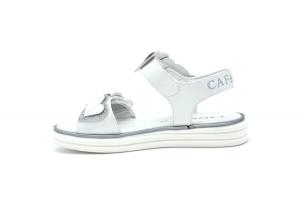 Sandalo con cuori glitter