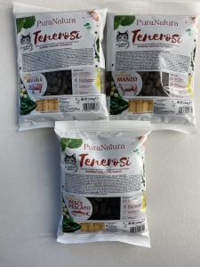 GATTO - CROCCHETTE - PURA NATURA - TENEROSI - Grain Free - Preparato FRESCO