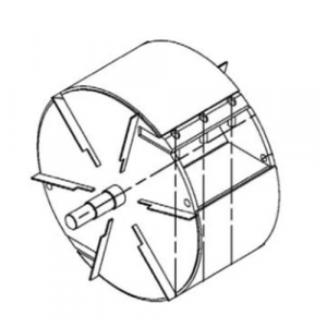 Cippatrice con doppia tramoggia GEO ECO 20