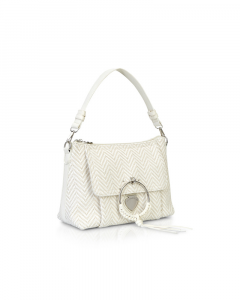 SHOPPING ON LINE LE PANDORINE VICKY POSTY  FELICE STRAW WHITE  NEW COLLECTION SPRING/SUMMER 2021