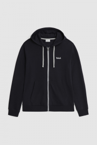 SHOPPING ON LINE WOOLRICH FELPA ESSENTIAL FULL-ZIP CON CAPPUCCIO NEW COLLECTION SPRING/SUMMER 2021