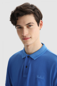 SHOPPING ON LINE WOOLRICH POLO MACKINACK IN COTONE PIQUE ELASTICIZZATO  NEW COLLECTION SPRING/SUMMER 2021