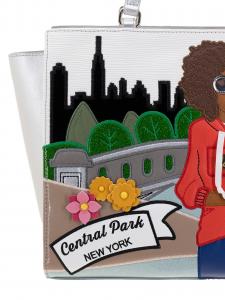 Braccialini Borsa A Mano  Cartoline New York