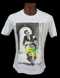 T-shirt estiva Maglietta uomo manica corta girocollo 100% Cotone FERRUCCI - ETON