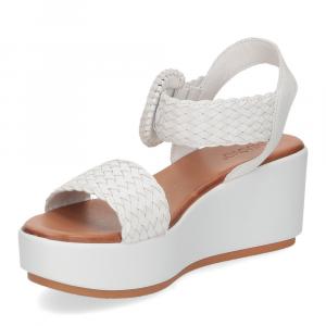 Inuovo sandalo 123035 pelle bianca-4