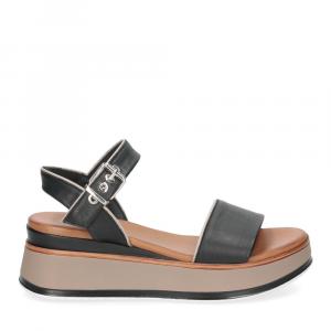 Inuovo sandalo 774011 pelle nera-2