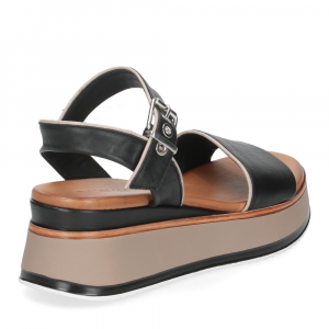 Inuovo sandalo 774011 pelle nera-5