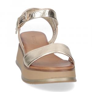 Inuovo sandalo 774011 pelle platino-3