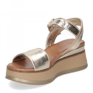 Inuovo sandalo 774011 pelle platino-4