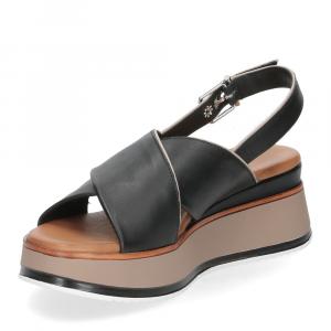 Inuovo Sandalo 774012 pelle nera-4