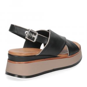 Inuovo Sandalo 774012 pelle nera-5