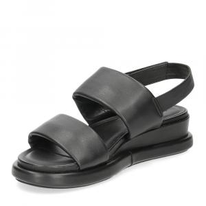 Inuovo sandalo 782002 pelle nera-4