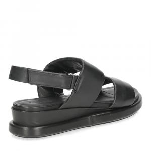Inuovo sandalo 782002 pelle nera-5
