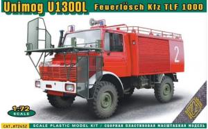 Unimog U 1300L Feuerlösch Kfz TLF 1000