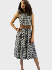 SHOPPING ON LINE  WOOLRICH LONG DRESS VESTITO LUNGO IN COTONE FANTASIA NEW COLLECTION WOMEN'S SPRING SUMMER 2021