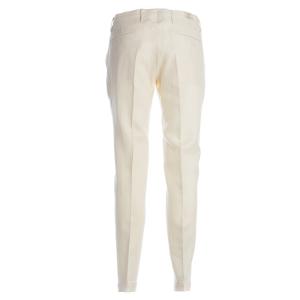 Pantalone Briglia Sartoriale cotone Panna