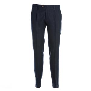 Pantalone Briglia Sartoriale cotone Blu