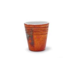 Tazzina da caffè in ceramica di Faenza