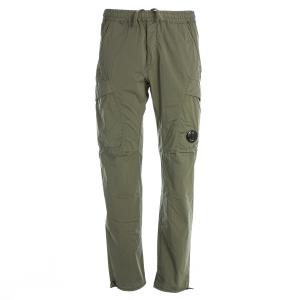 Pantalone 50 Fili Stretch C.P. Company Verde Oliva