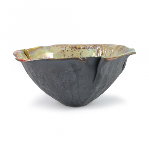 Ciotola centrotavola artigianale ceramica di Faenza