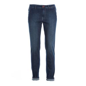 Jeans leggero Tasca America Barba Napoli Indaco scuro