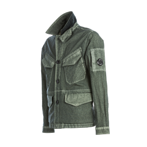 Giubbotto CO-TED Garment Dyed Jacket C.P. Company Verde Salvia