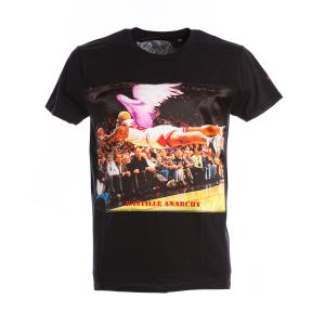 T-Shirt Bastille Nera Stampa Rodman