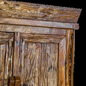 Credenza / Armadio in legno di teak indonesiano antico