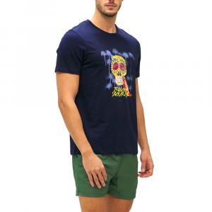 T-Shirt Uomo F**K F21-2501BL  -21
