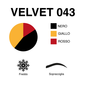 VELVET 043 | Marrone Intermedio | 10 mL